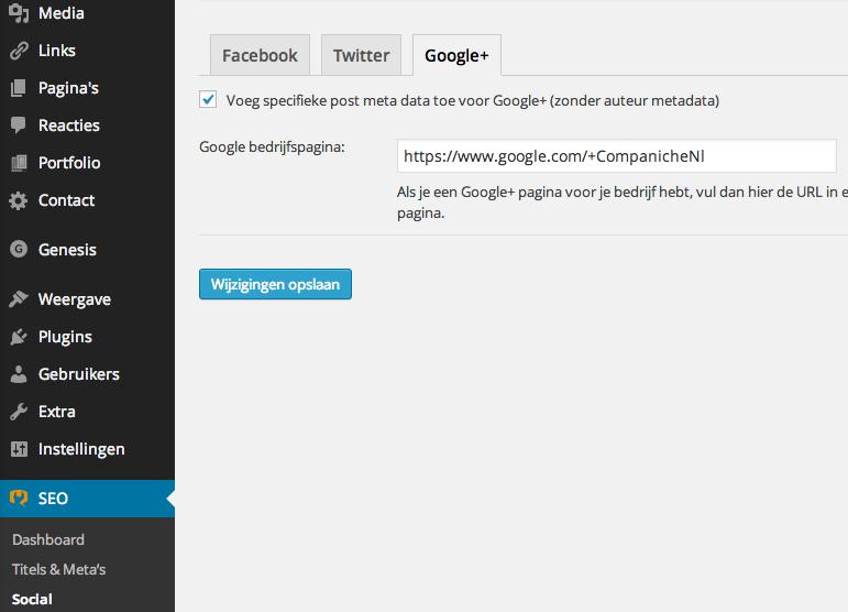 Google+ bedrijfspagina instellen