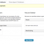 Plugin Custom sidebars