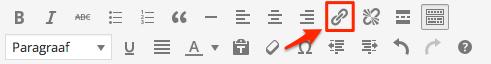 Hyperlinks toevoegen in de WordPress editor